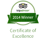 Certificate of Excellence 2014 Image