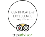 Certificate of Excellence 2015 Image